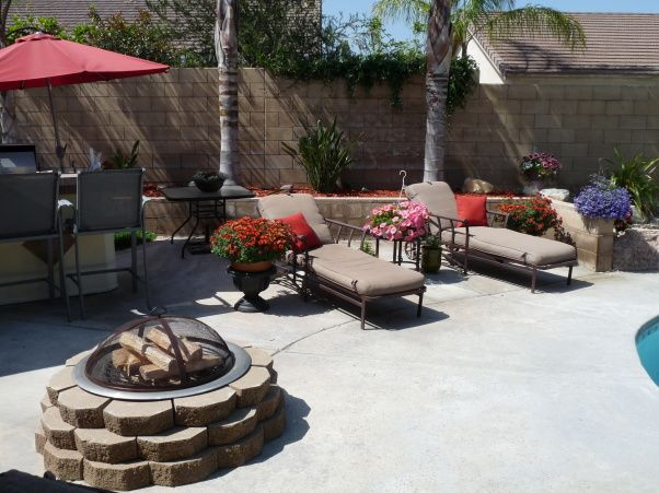 108 best pool & patio designs images on pinterest | patio design ... - Patio Ideas For Backyard On A Budget