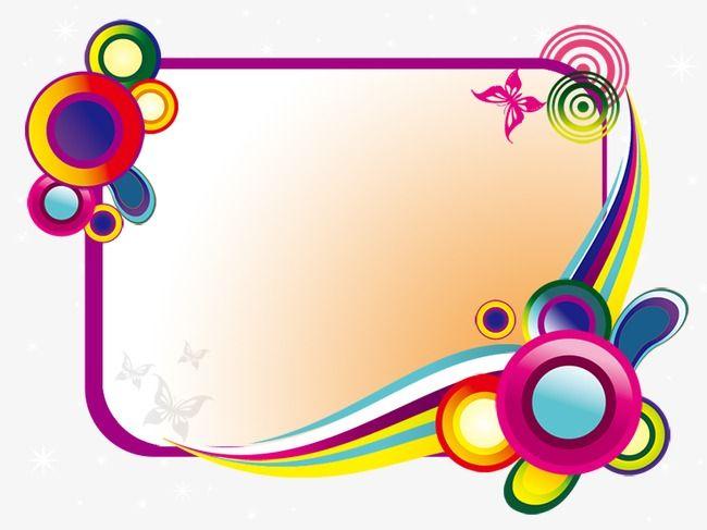 Marco Decorativo De Colores Gratis Png Y Psd Marcos Decorativos Artesanias De Palos Marcos De Colores