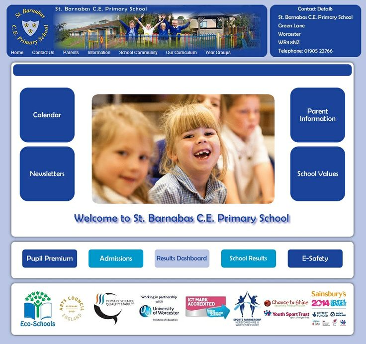 St Barnabas are still in the process of creating their web site, but the strong colour scheme, use of photos and scrolling news updates are already making this an attractive, engaging and useful public web site.