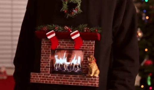 Creative trickster Mark Rober created this very clever tutorial for making an ugly Christmas sweater with moving images using an Ipad.