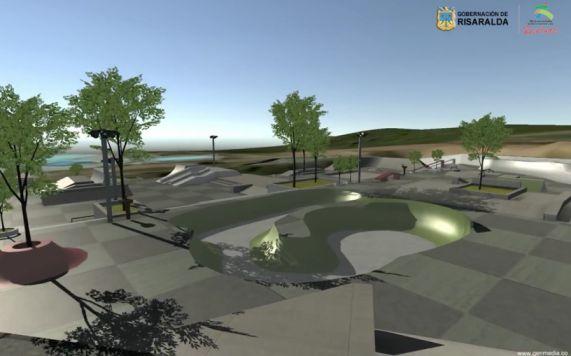 Parque de Patinaje será un lugar de encuentro para las familias / Skate Park will be a meeting place for families