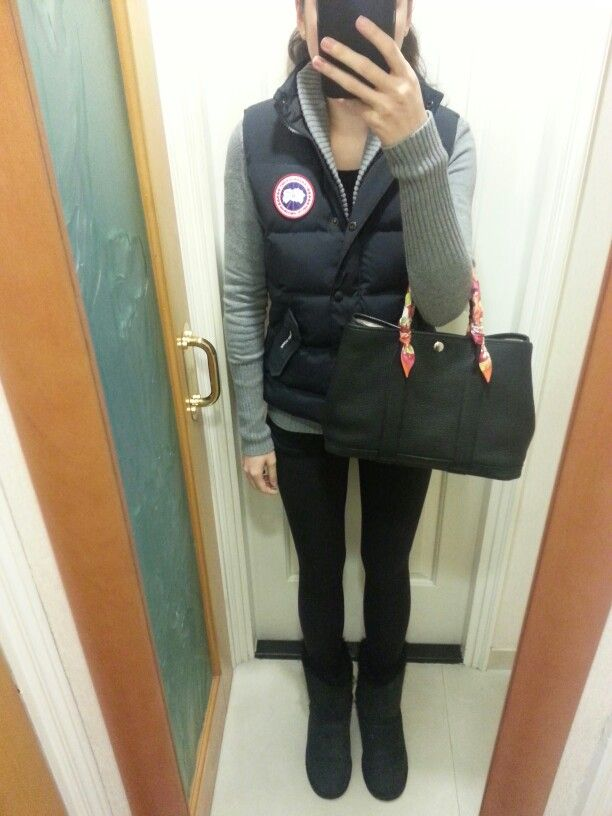 canada goose graphite vest