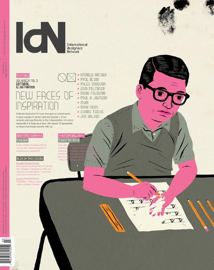 Brilliant issue! IdN v21n3: Editorial Illustration