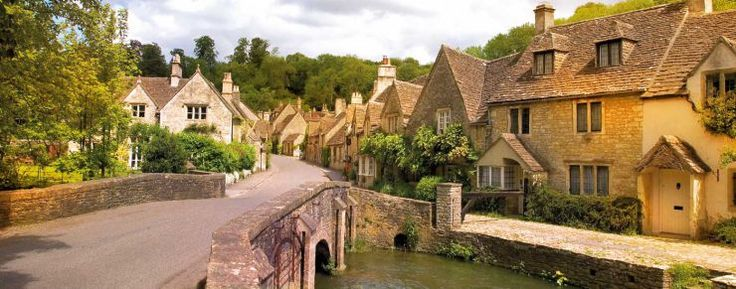 The Cotswold village of Castle Combe in Wiltshire