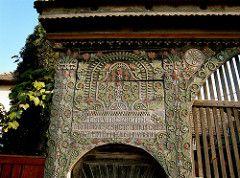 Székelykapu (Kayakman) Tags: gate folkart transylvania erdély székelykapu hargita székelyföld decrativegates trans1000