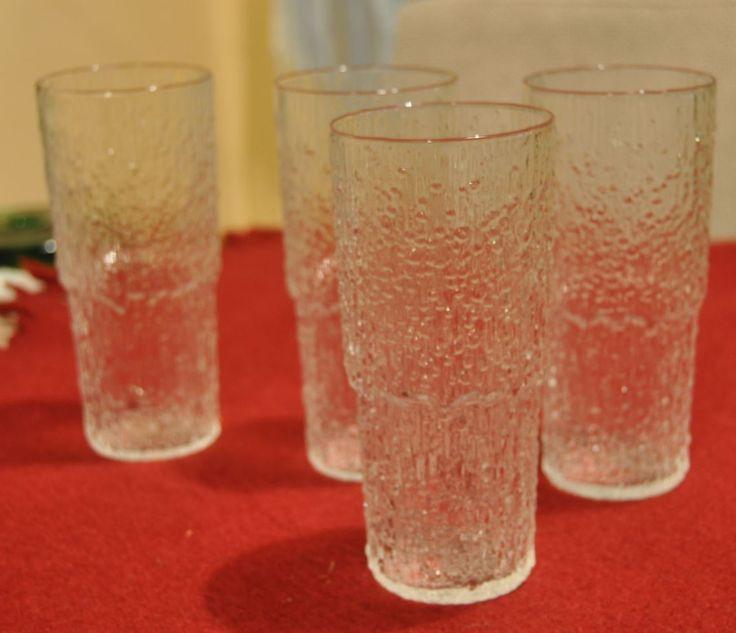 Paadar juice glasses. Tapio Wirkkala for Iittala.