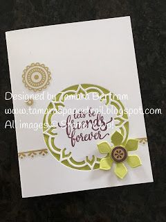 Handmade Cards; Handmade Birthday Card; All Occasion Cards; Eastern Palace; Eastern Palace Suite; Stampin' Up!; 2017 Catalogue; Tamara's Paper Trail