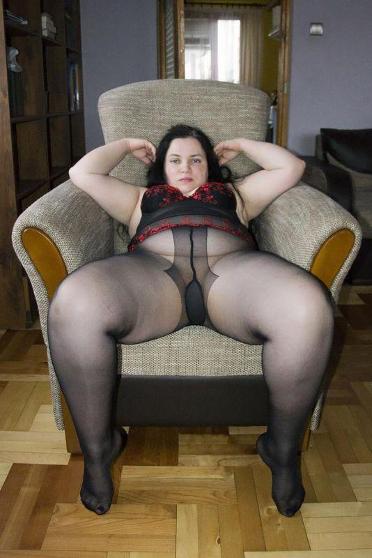 Bbw pantyhose madels