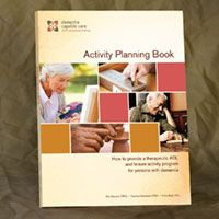 Dementia Activity Planning Book $48.00 | With more than 75 activities, this is a necessary tool for any long-term care, dementia-focused living environment.