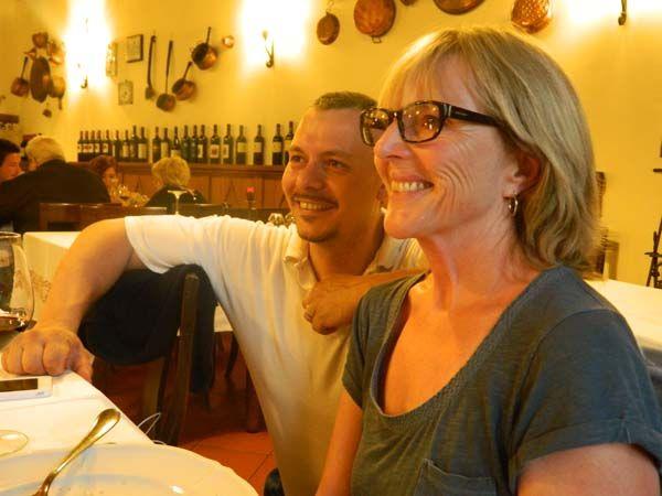 Massimiliano and Catherine #vecchioconvento #romagnadiffusa #romagna #bloggers!