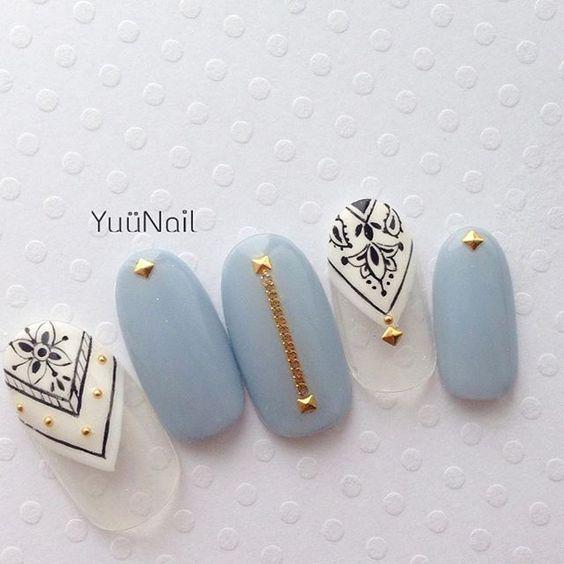 今から塗れる秋カラー♡おすすめ秋ネイルデザインカタログ50選♡ -page2   Jocee