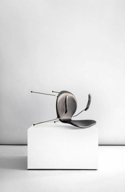 Series 7™ chair by Arne Jacobsen / Fritz Hansen. Sorensen Leather: Savanne / Black. Photo: Jonas Bjerre-Poulsen / #NORMarchitects #sorensenleather