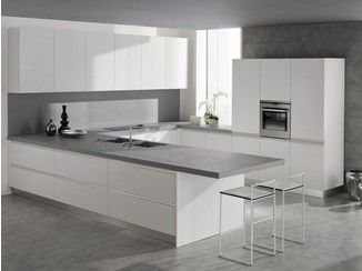Lacquered wood veneer kitchen SETA - GeD cucine by GeD Arredamenti