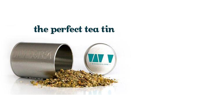 Tea Tin by DavidsTea