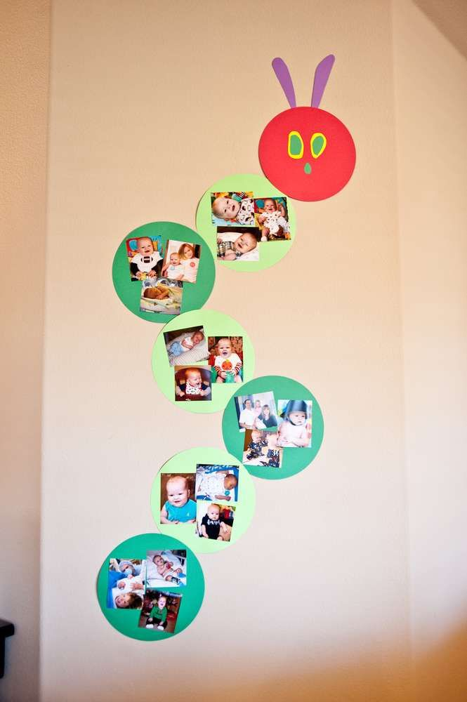 The Very Hungry Caterpillar Birthday Party Ideas | Photo 1 of 46 | Catch My Party