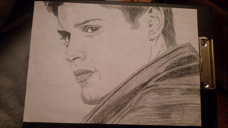 Dean Winchester, Jensen Ackles / Supernatural / Drawing