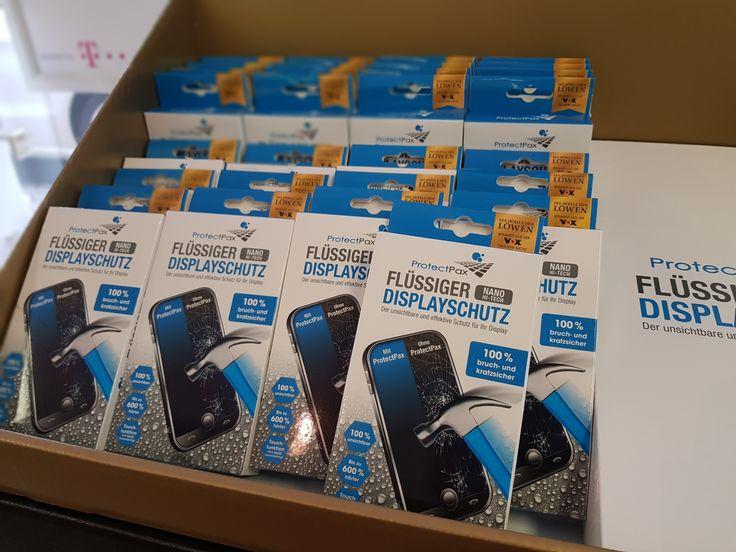 ProtectPax Nano Hi-Tech Displayschutz. Unsichtbarer und effektiver Schutz mit 9H Härtegrad, kratzresistent, Stoß- und Bruchfest bis 6kg. Ideal bei Curved-Screens insbesonder bei Edge Modellen. Auch geeignet für Smart Watches, Uhren, Brillen usw. Jetzt für14,99 Euro direkt zum mitnehmen :-)