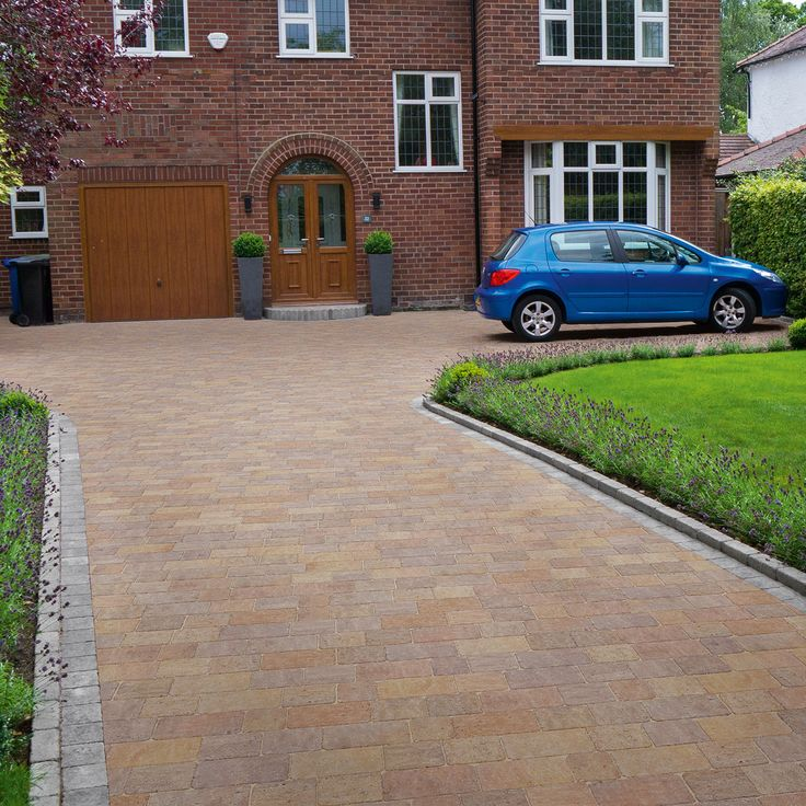 Drivesett Tegula Original Block Paving Pennant Grey