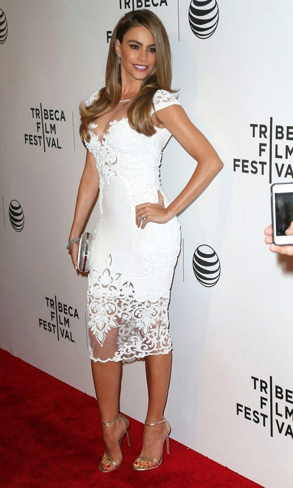 Sofia Vergara. Love the hair and make-up