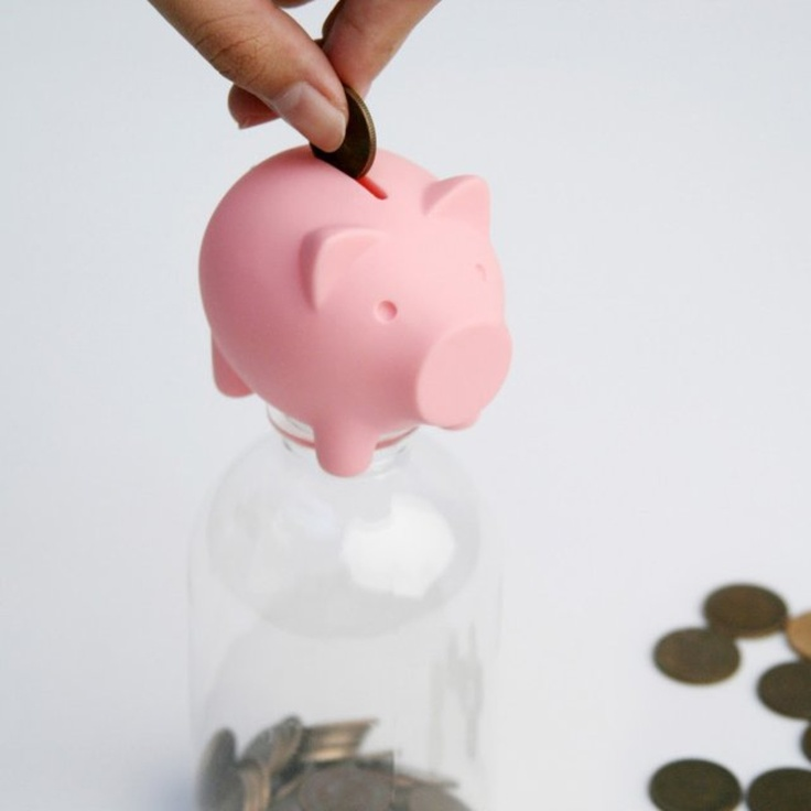 1000 images about craft ideas piggy banks on pinterest for Piggy bank craft