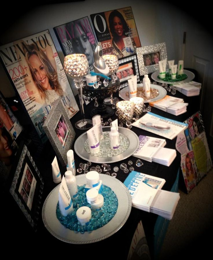 Rodan + Fields Arizona salon set up https://melissachrisco.myrandf.com/