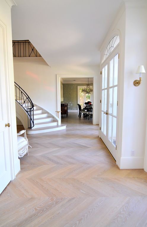 insane chevron floors