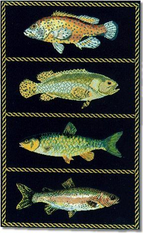 Elizabeth Bradley: Fishes Carpet