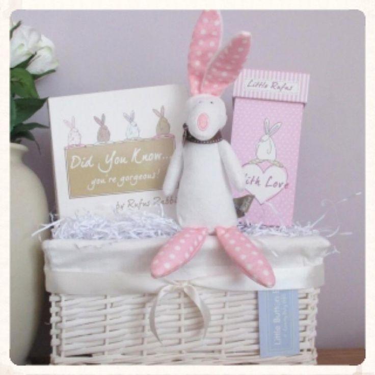 Little Button Bay - Little Pink Rufus Hamper
