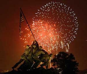 Mark Mearin salutes our military. God bless America!