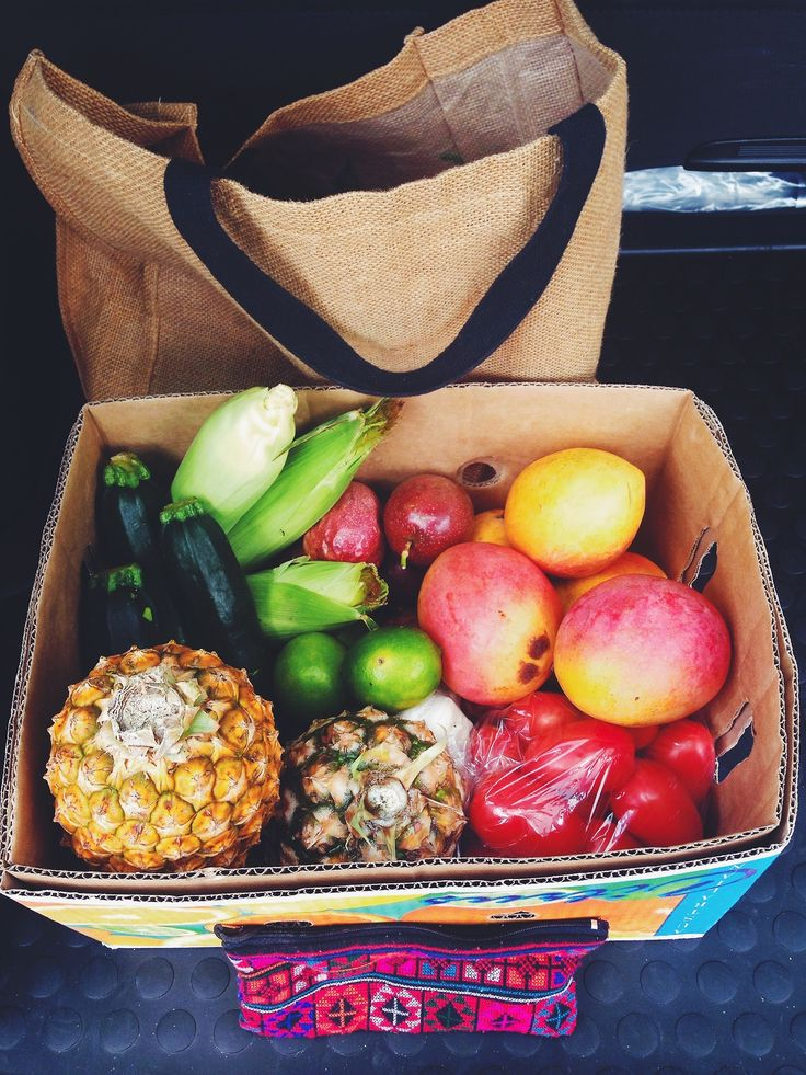 cleanleanandkeen:  I love market day!