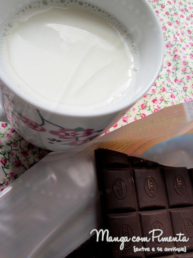 Chocolate Quente {Comfort Food}, clique na imagem para ver a receita no Manga com Pimenta.