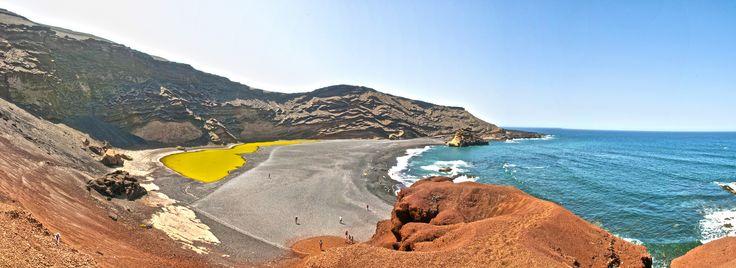 """Maravillas de Canarias """"el Lago verde"""" punto de encuentro entre cielo, volcanes, mar y tierra - Foto de JL. MVG Photography"""
