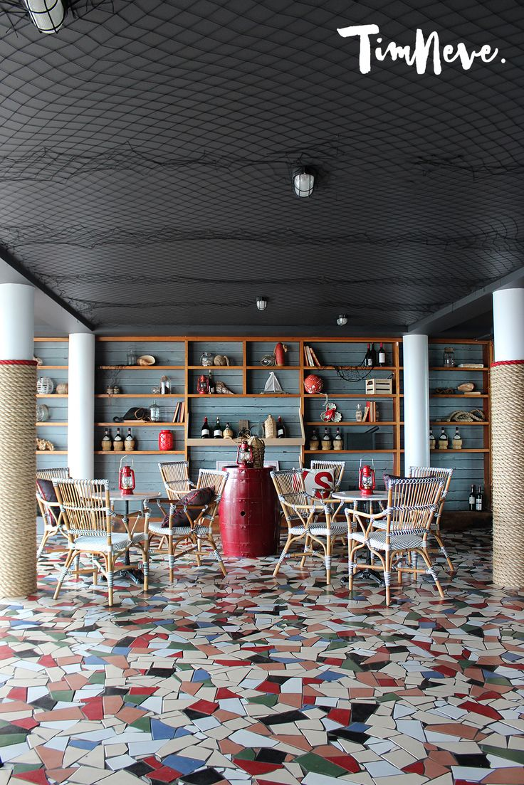 Latest nautical-inspired functions room interior design at Beach Hotel, Newcastle by stylist Tim Neve