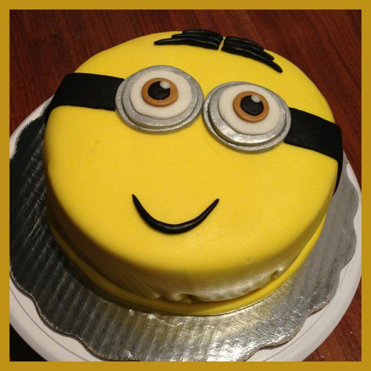 Minion Party Cake!!