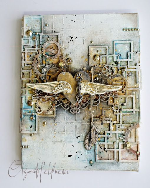 Arts&Crafts keep me sane.....: MixedMedia
