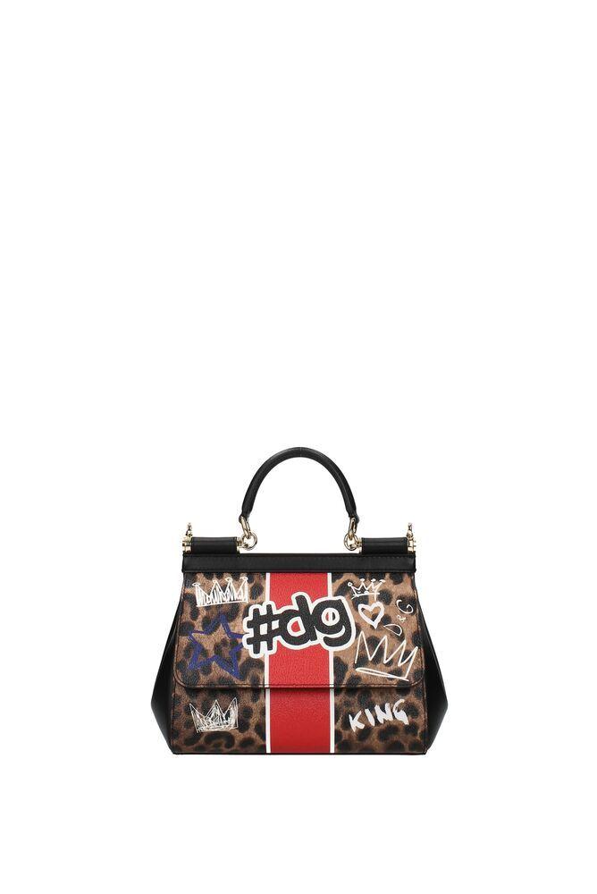 58f8cfbcfdd26 Handtaschen Dolce Gabbana sicily mini Damen - Stoff (BB6003AN734 ...
