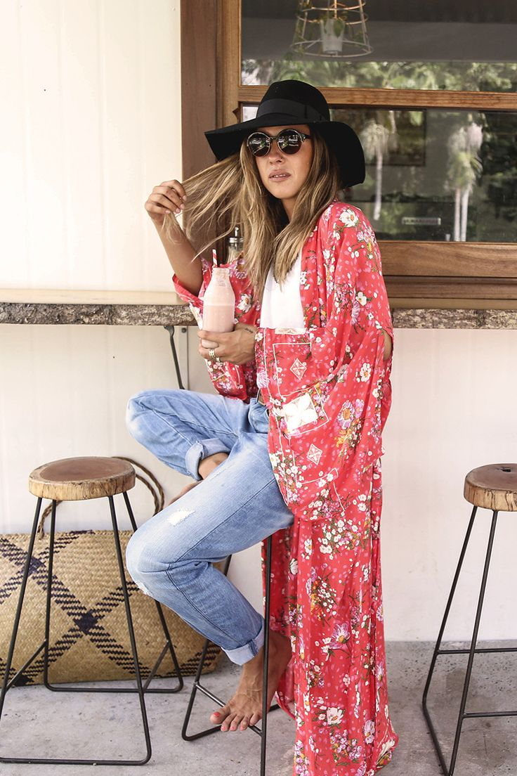 Sundancer Maxi Kimono - Rose • Spell & The Gypsy Collective