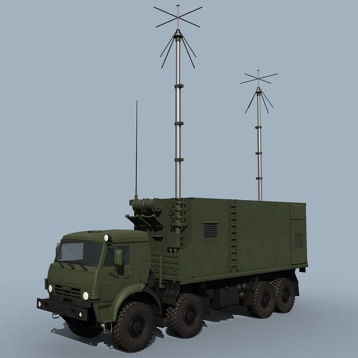 Lwo Battery Command Post Pantsir S1 - 3D Model