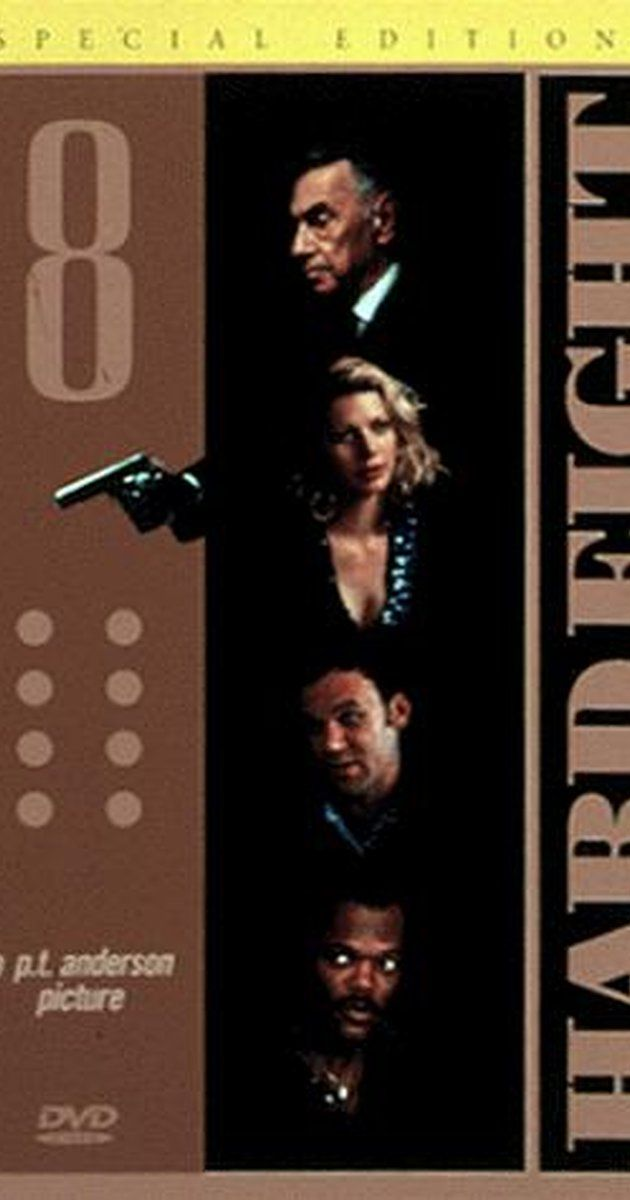 "Hard Eight (1996) (d. Paul Thomas Anderson; c. Philip Baker Hall, John C. Reilly, Gwyneth Paltrow) (""John has lost all his money. He sits outside a diner in the desert when Sydney happens along, buys him coffee, then takes him to Reno and shows him how to get a free room without losing much money. Under Sydney's fatherly tutelage, John becomes a successful small-time professional gambler, and all is well, until he falls for Clementine, a cocktail waitress and sometimes hooker."")"