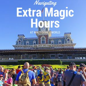 One perk of staying in a Walt Disney World resort is Extra Magic Hours (EMH).  Extra Magic Hours allow guests to enter the parks early, or stay in the park later than guests staying in off-site res…