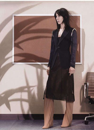 jamie bochert 'come as you are', craig mcdean for W magazine dec 2012