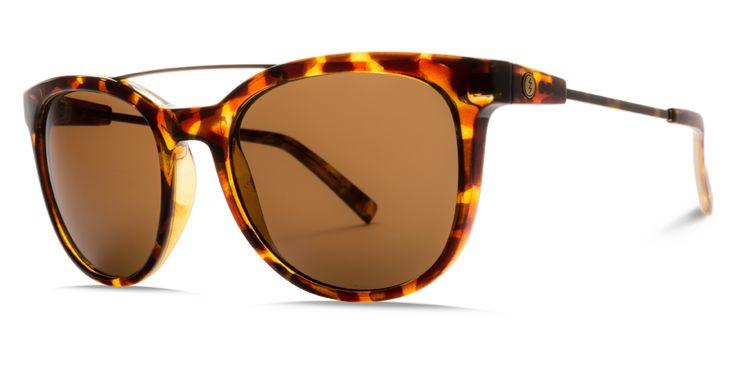 Electric Bengal Wire Gloss Tortoise Bronze Sunglasses EE14110639