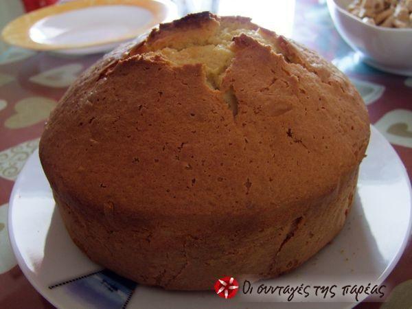 Sponge cake #sintagespareas