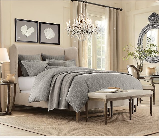 hardware bedroom neutral colors decor ideas restoration hardware