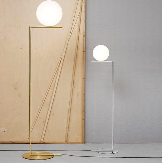 Colección Ic de Flos diseñado por Michael Anastassiades Esta colección Ic está compuesta por lámpara colgante, lámpara de pie...