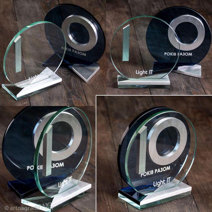 Награда стеклянная 2 в 1 - nagrada.ua™