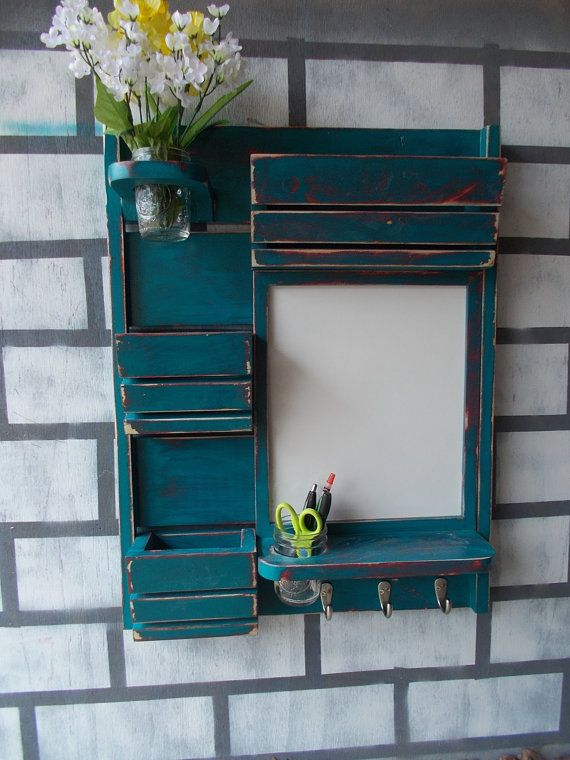 Hey, I found this really awesome Etsy listing at https://www.etsy.com/listing/178993742/message-center-mail-organizerkitchen