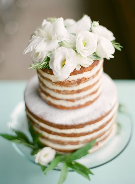 17 bolos de casamento lindos e deliciosos estilo Naked Cake perfeitos para decorar ainda mais sua mesa! Image: 7