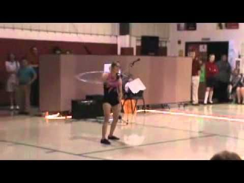 down sydrome hula hoop talent sh