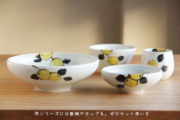 色絵みかん 鉢 (九谷青窯・徳永遊心)   九谷青窯   cotogoto